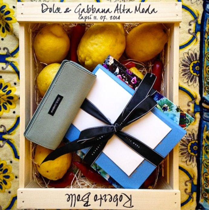 Dolce & Gabbana Fall Winter 2014-15 Alta Moda, Capri