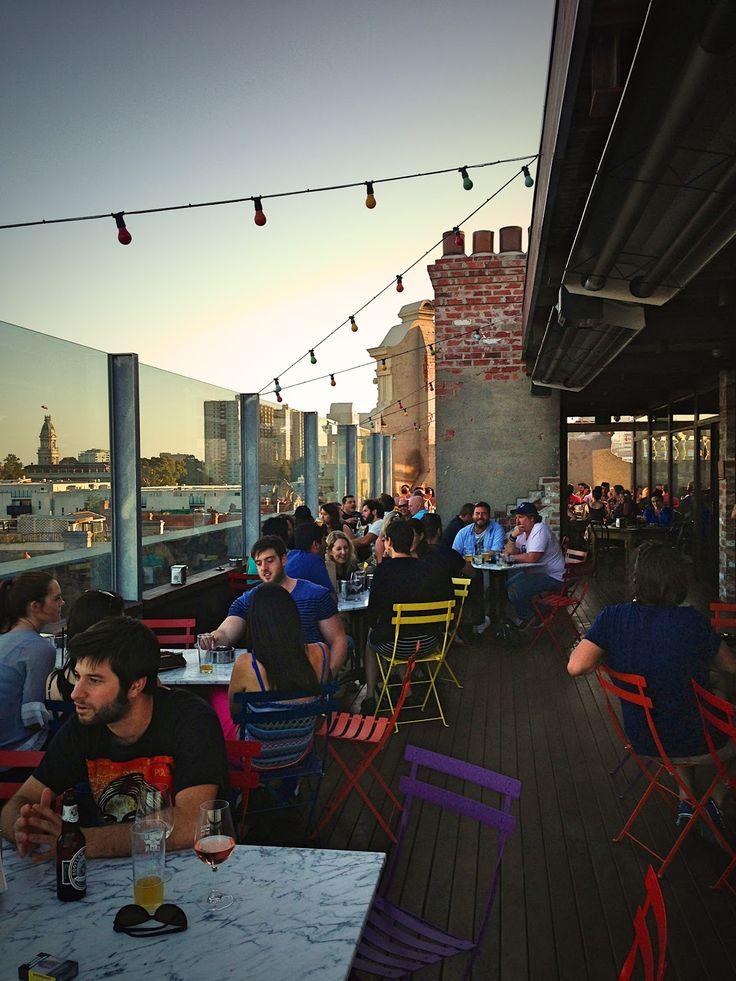 Naked For Satan. #brunswickstreet #fitzroy #rooftopbar #melbourne. Best rooftop bar in Melbourne!!