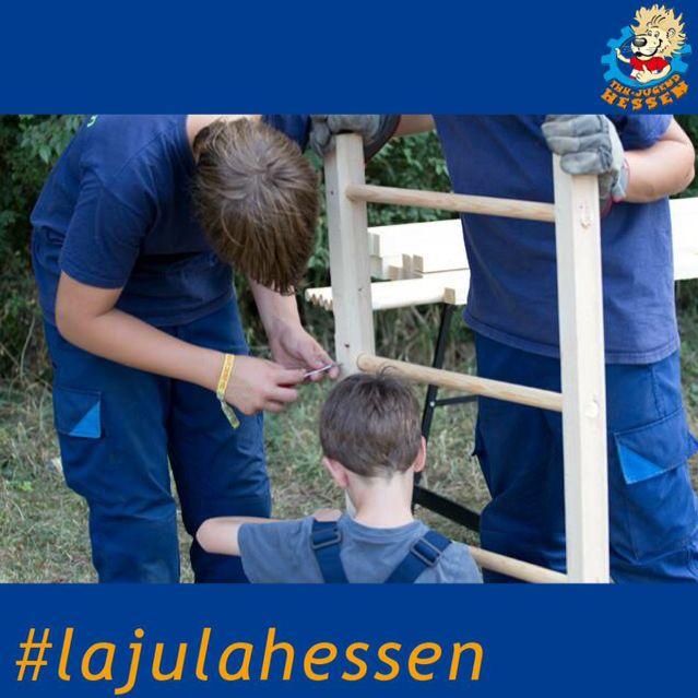 Workshop Leitergolf #lajulahessen #lajula #thw #technischeshilfswerk #wiesbaden #2015