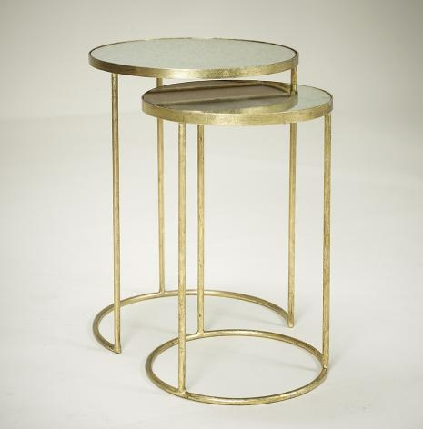 GOLD NEST TABLE | ROBERT.LANGFORD.LONDON £497