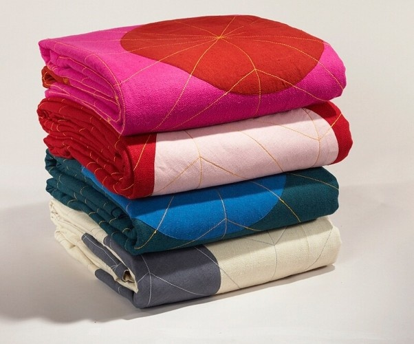MILON Queen Coverlet   eco-friendly and  sustainable luxury home textiles
