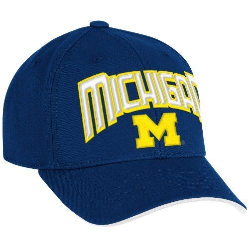 0934b3db9ae australia navy blue ncaa michigan wolverines structured adjustable hat one  size fits all blue adidas.