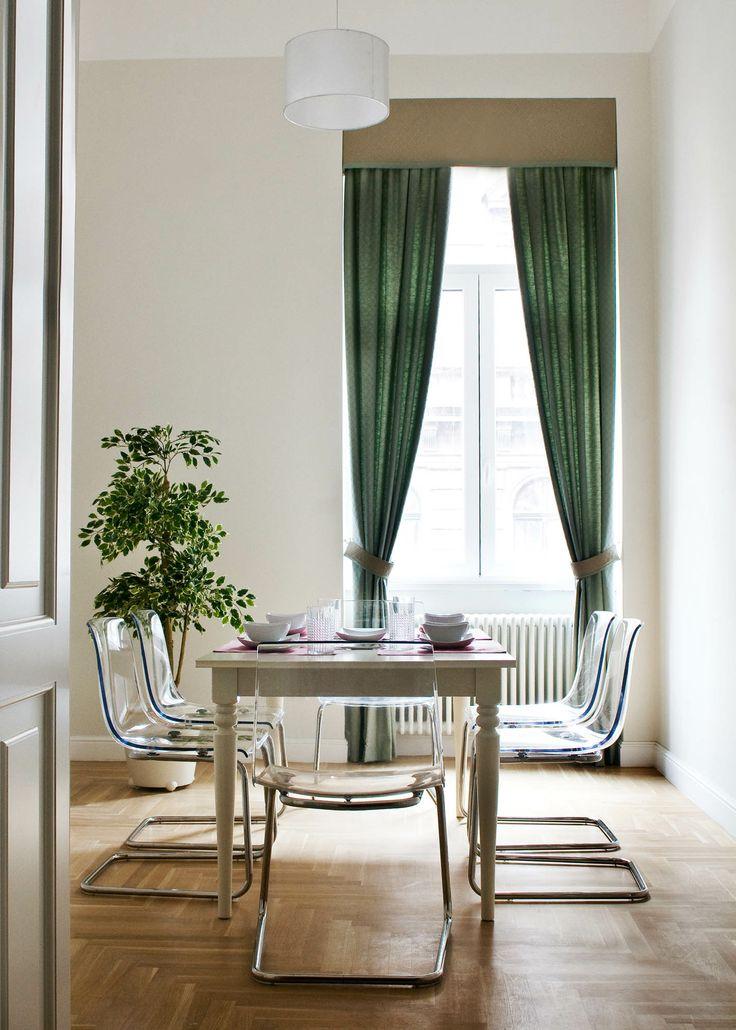 Small dining room. Apartment 1/2, 85 Király utca, Budapest, 1077.