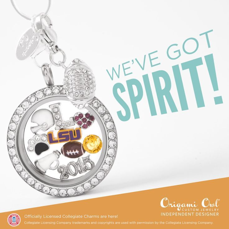 #LSU #GeauxTigers #OrigamiOwl Show some school spirit with an Origami Owl locket. Shop on my website at rhondalittle.origamiowl.com or follow me on my Facebook page at https://www.facebook.com/Origami-Owl-Rhonda-Little-Independent-Designer-952240621507209/timeline/?ref=aymt_homepage_panel