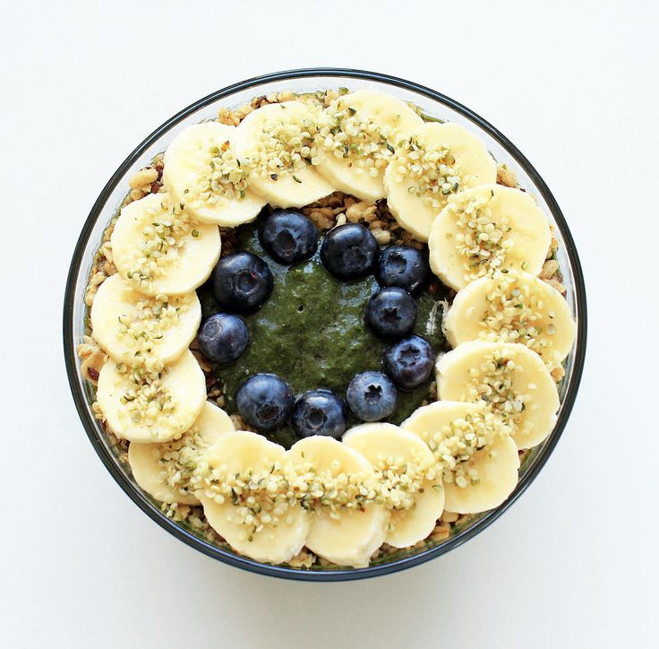 This smoothie bowl may be green, but it has the same flavors you love from your favorite acai bowl. The spinach and kale in the recipe ups the nutrition, but doesn't affect the taste at all.