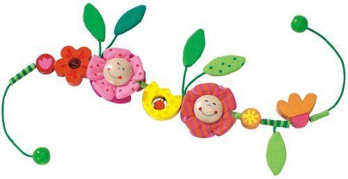 1036 - HABA - Kinderwagenkette Blüten