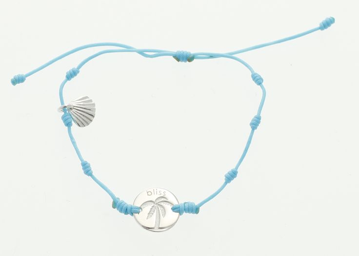 Palm Springs Bliss bracelet in silver with the clam!!!