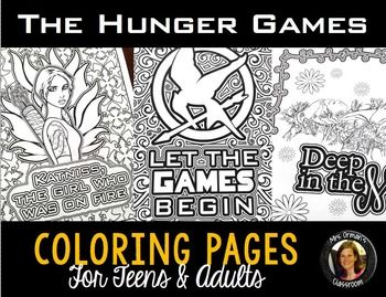 The Hunger Games Coloring Book