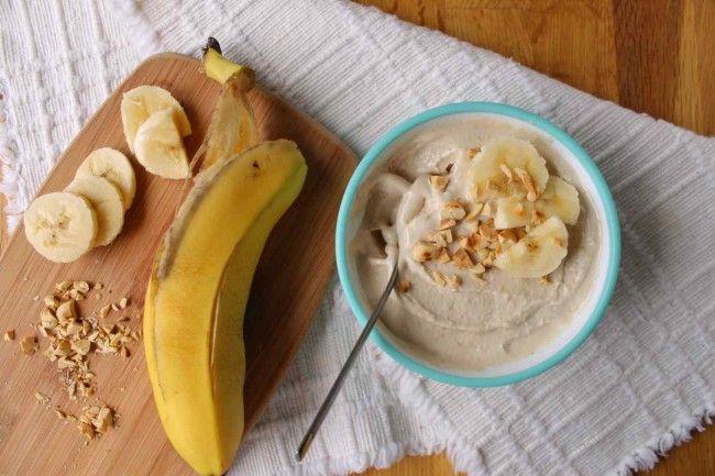 Παγωμένο γιαούρτι με μπανάνα και μέλι | InfoKids