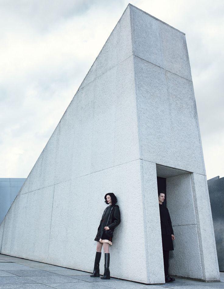 'das boot' • mariacarla boscono by emma summerton, w magazine september 2014