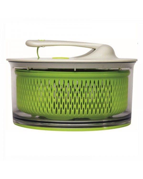 Secador de Salada Grande Chef´n - Salad Spinner - Tampa branca http://monteluce.com.br/chefn/secador-de-salada-grande-chefn-salad-spinner-tampa-branca  #decor #decorar #decoracao #casa #monteluce #decoracaodeinteriores #festa #casamento #thisisliving #casa #decor #decoração #servir #receber #lardocelar #querotudo #utilidadesdomesticas #design #interiors #inspire #details #stylish #living #relax #homesweethome #colortherapy #shoponline #chefn #utensílios  http://monteluce.com.br