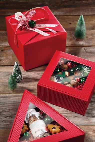 Attraktive Geschenkboxen aus Offener Welle für kleine Aufmerksamkeiten.