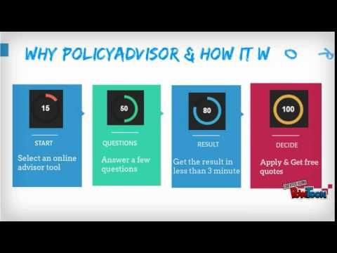 In India people can now easily get a insurance policy. PolicyAdvisor is a place where you can compare and quote online the best insurance policies. This is the only place that provides together the most reputable insurance companies at one place. Applying here is completely free then one easily.