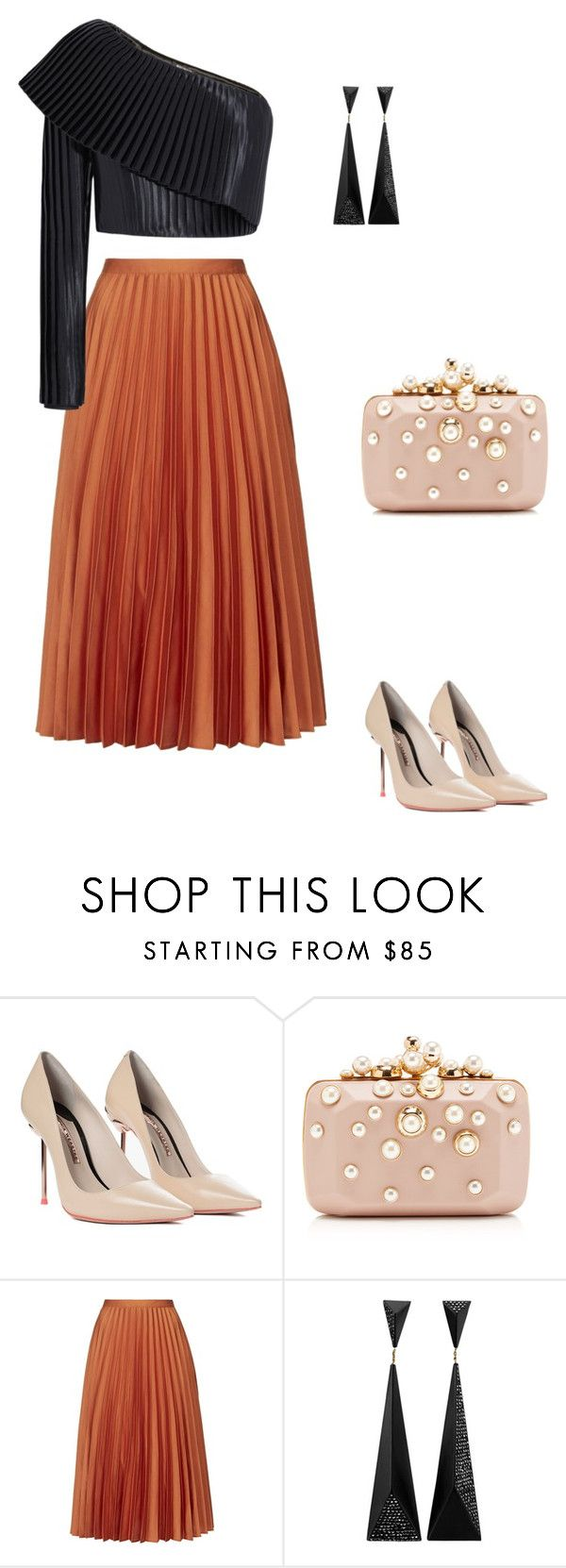 Love it <3<3<3 by catarina-teixeira-de-queiros on Polyvore featuring Balmain, Topshop, Sophia Webster and Elie Saab