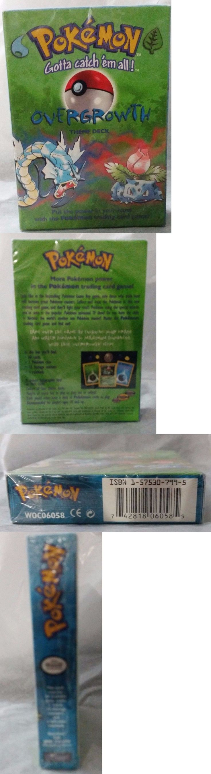 Pok mon Sealed Decks and Kits 183467: New Pokemon Tcg Overgrowth Theme Deck Wizards Of The Coast Factory Sealed -> BUY IT NOW ONLY: $58 on eBay!