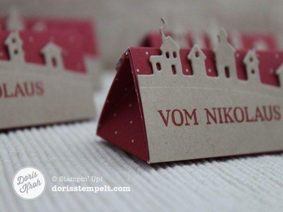 Schachtel zum Nikolaus