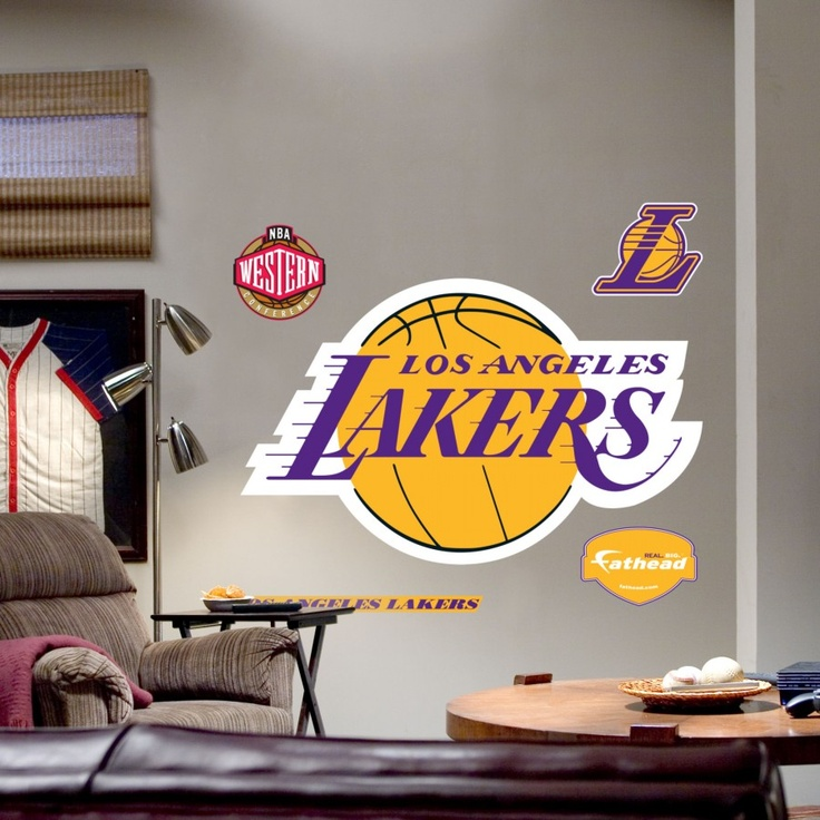Fathead LA Lakers Logo Wall Graphic   62 62201