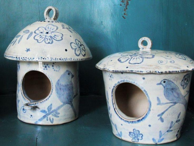 handgemachtes Vogelhaus Umbumbi Keramik – keramiek – #handgemacht #kerami …   – Keramische Kunst