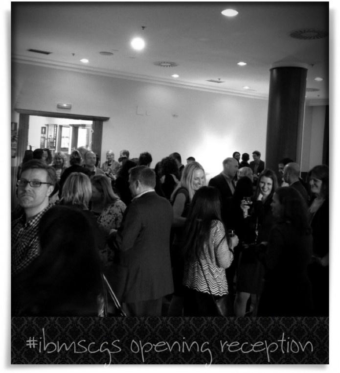 Reception at #IBMSCGS