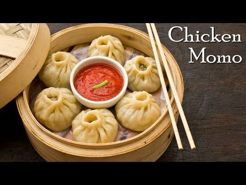 Chicken Momos | Steamed Momos | Chicken Dumpling | Chicken Dim Sum ~ The Terrace Kitchen - YouTube