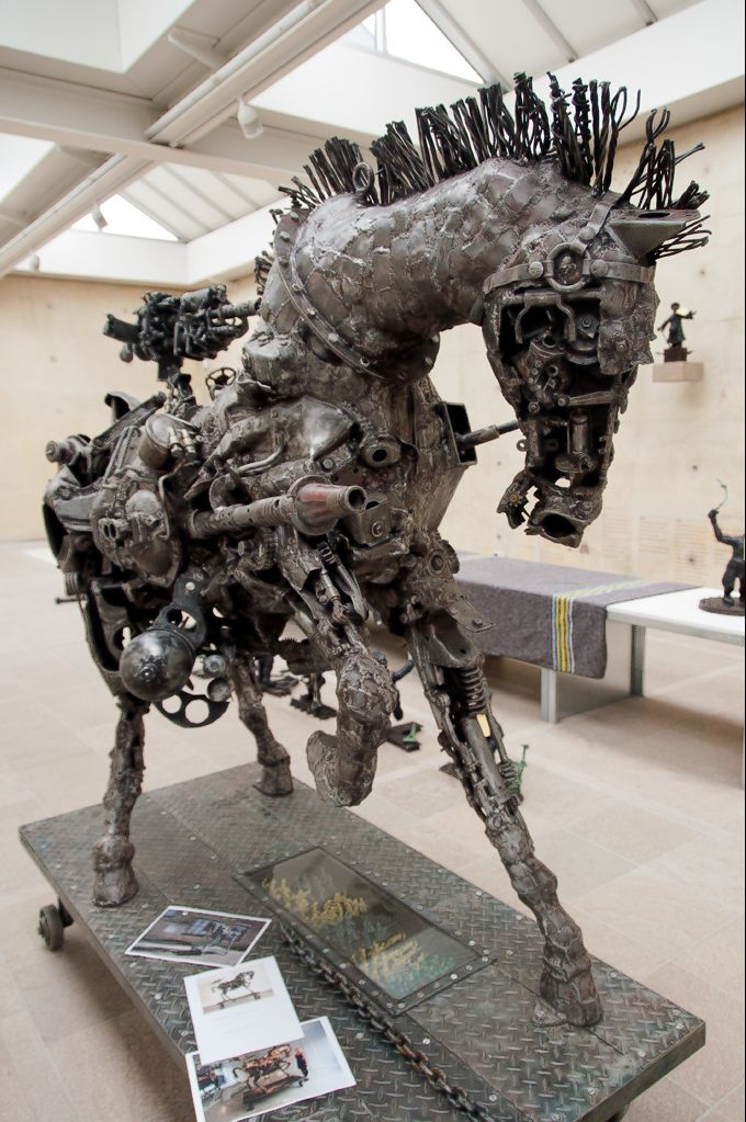 Willie Bester - Trojan Horse, 2007