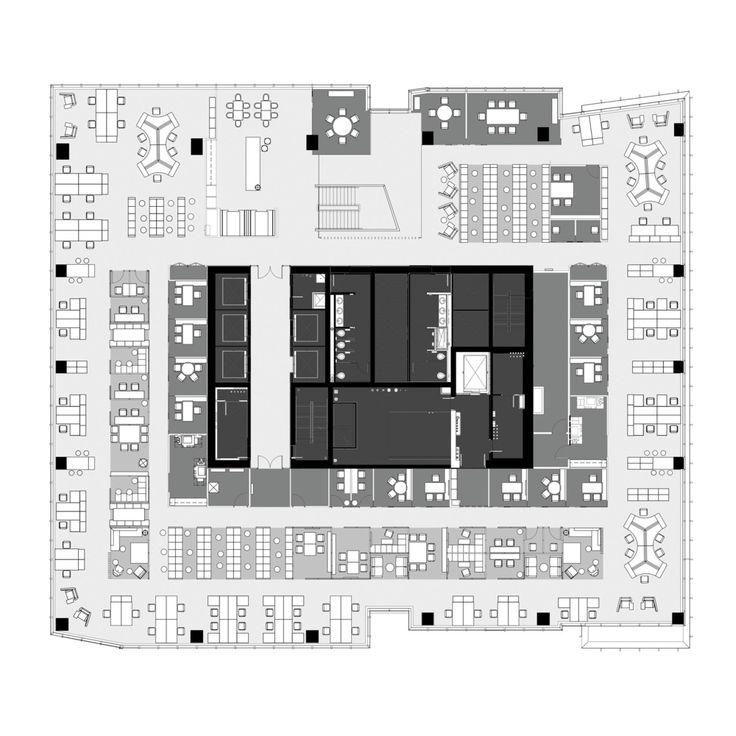 Deloitte Quebec HQ,Floor Plan