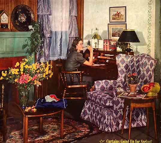 early american style sofas outdoor rattan weave sofa set 66 best 1940's home decor images on pinterest | 1940s ...