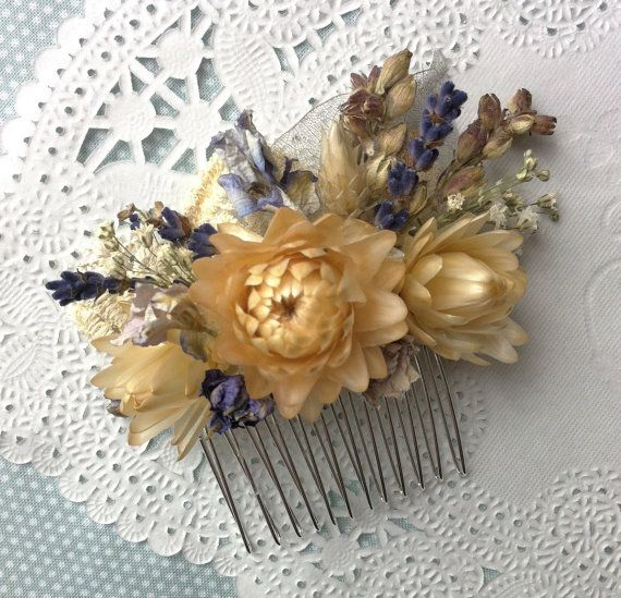 Art Deco Bohemian Style Real Everlasting Dried by ImmortalFlorals