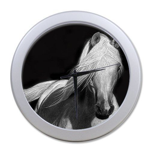 Lause diy Custom Horse Art Picture 965 elegant wall clock for Home Decor Custom wall clock ** Want to know more, click on the image.