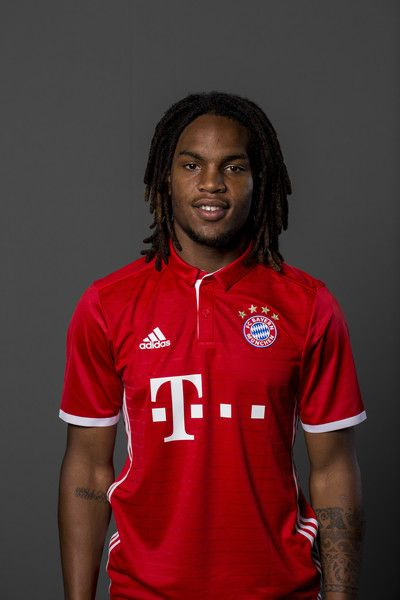 Renato Sanches of FC Bayern Munich pose during the team presentation on August 10, 2016 in Munich, Germany.