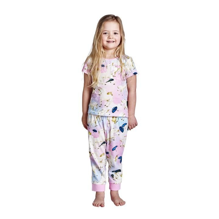 Kip & Co - Animalia Unruly Unicorns Pj Set