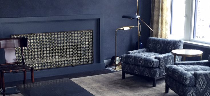 Marie Suri | Custom Fireplace Screens | Custom Andirons