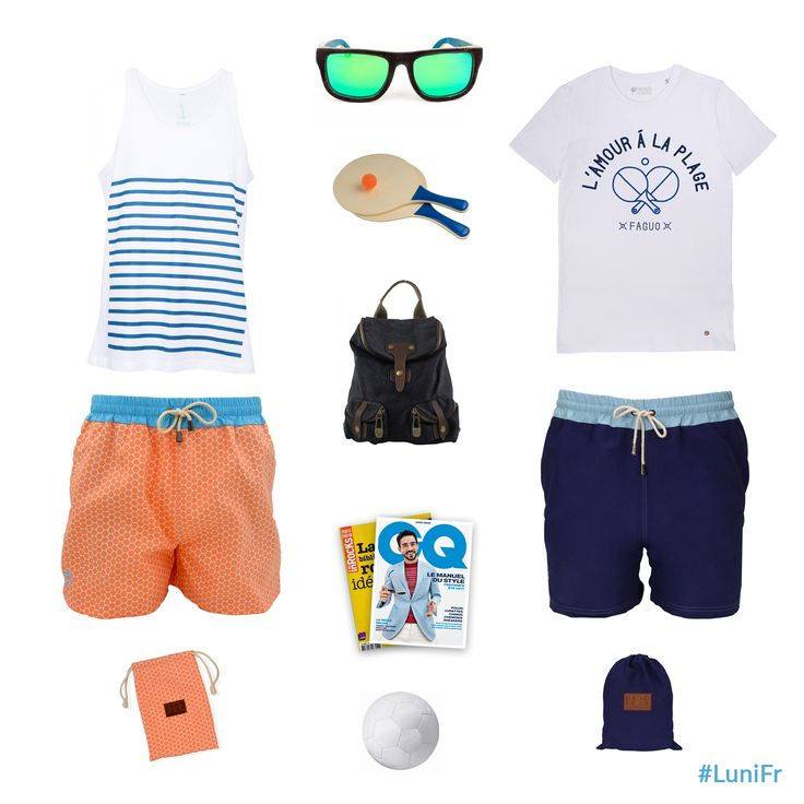 Une sélection de maillot de bain pour vous les hommes 🙂 #onnevousoublipas 👉🏻http://luni.fr/le-mag/lookbook-plage/ #maillot #plage #lunifr #summer #homme #tenue #beach #luni #flatlay #mode #men #piscine #summer #lookbook #été #tendance