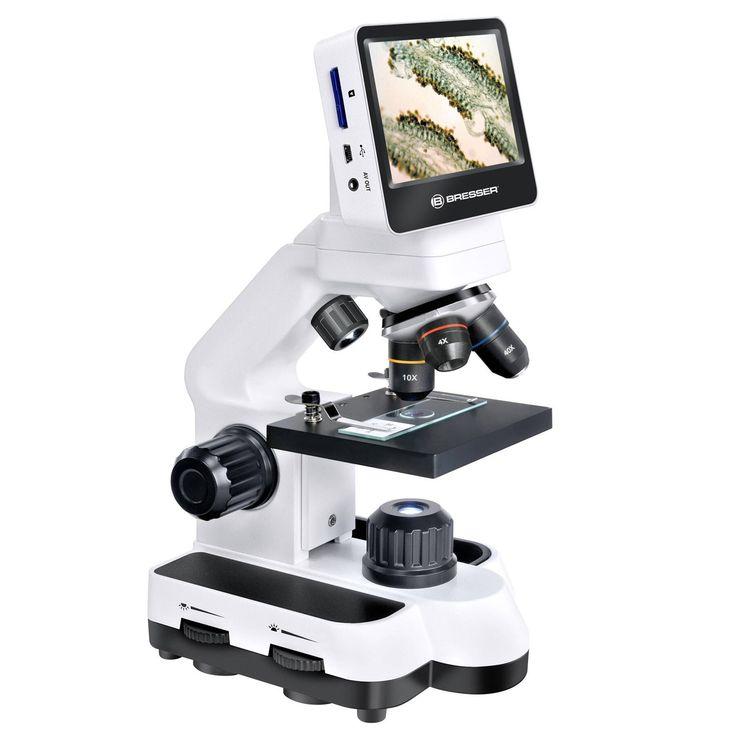 Microscope LCD écran tactile - Observer simplement l'infiniment petit - 229 €