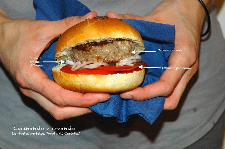 Panino hamburger totalmente fatto in casa? Si può fare!!