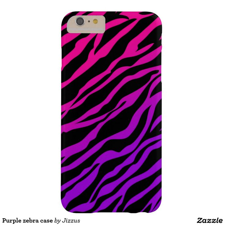 Purple zebra case