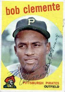 1959 Topps Bob Clemente