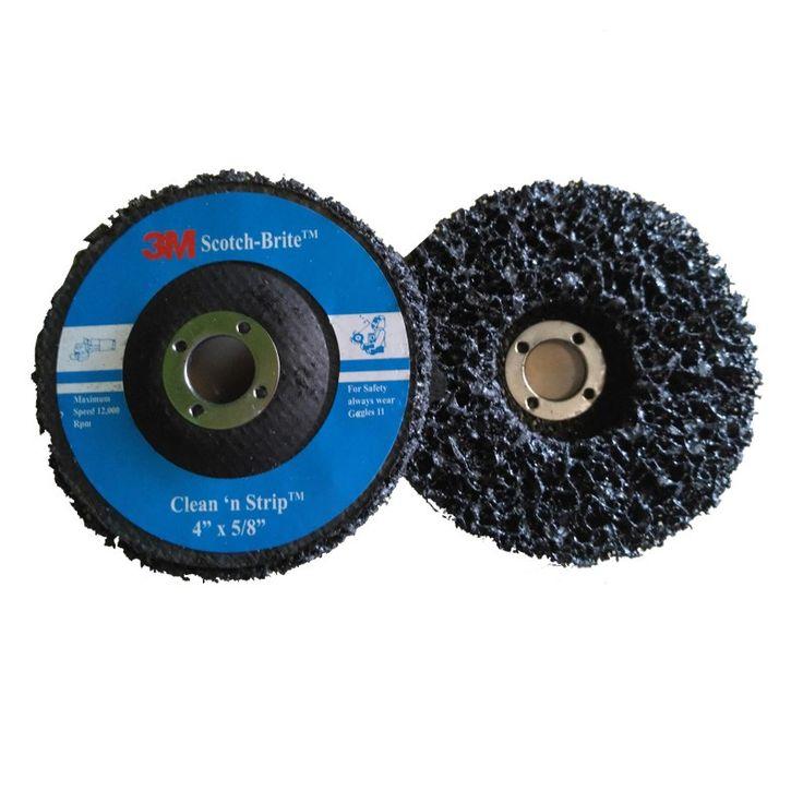 Scotch-Brite™ Clean and Strip Disc, 4 in x 5/8 in (Amplas).  Scotch-Brite™ Clean and Strip Disc, 4 in x 5/8 in - 100 each / case (Amplas).  - Harga per Each.  http://tigaem.com/scotchbrite/1120-scotch-brite-clean-and-strip-disc-4-in-x-1-4-in-.html  #scotchbrite #amplas #3M