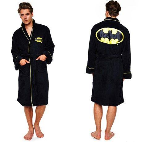 Herlig badekåpe med Batman-motiv!