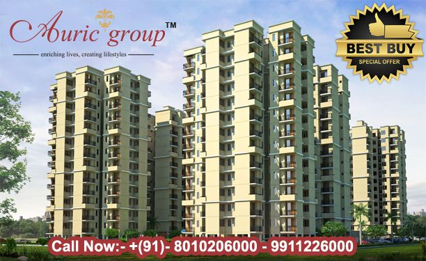 Auric Flats is Affordable Apartments At Very Reasonable Price in sector- 82. 2,3 BHK Budget Homes at Residential Properties Group Housing Society faridabad