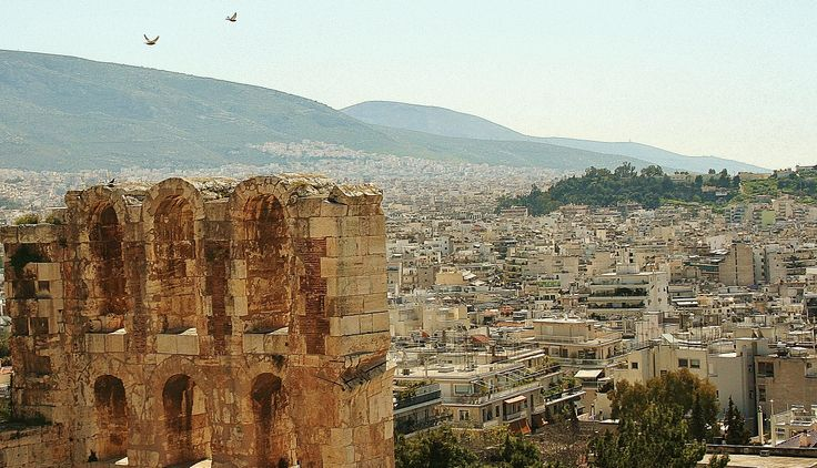 Breathtaking. The amazing acropolis in Athens