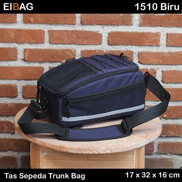 Tas sepeda trunk bag murah Bandung kode EIBAG 1510 Biru. Dipasang pada rak besi belakang sepeda. Berfungsi sebagai tas bagasi untuk membawa barang-barang. Cocok untuk keperluan touring. Dilengkapi juga dengan tali selempang. Pada paket penjualannya sudah termasuk free cover bag. Untuk gambar lebih lengkap bisa dilihat di artikel : Trunk Bag EIBAG 1510 Merah. Dimensi …