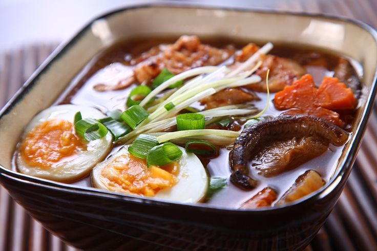 Thai Soup with Egg