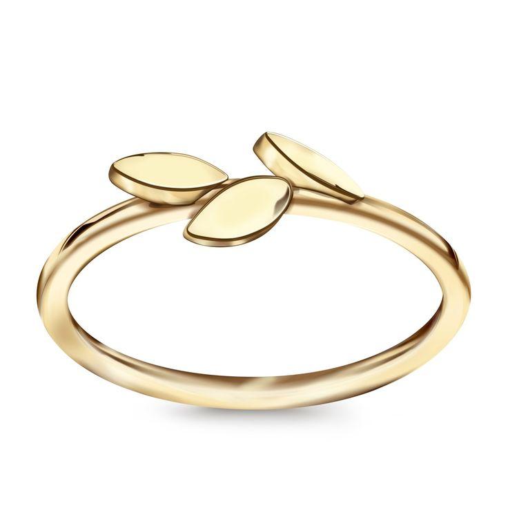 Livia - złoty pierścionek YES