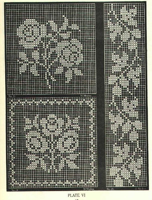 36 Best Filet Crochet Images On Pinterest Embroidery Crochet