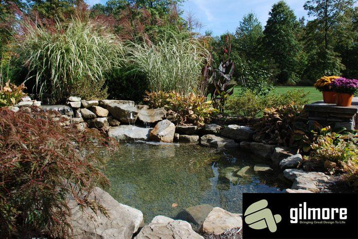 awesome backyard pond landscape pinterest