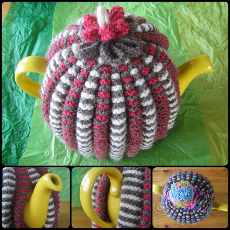 Knitting Grannie's Traditional Tea Cosy with free pattern