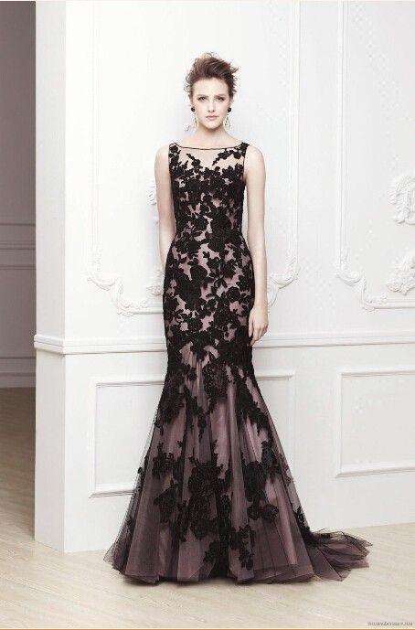 Mais quente vender vestido de noite formal do pescoço da colher sereia black lace vestido de noite BO3310 em Vestidos de Noite de Roupas & acessórios no AliExpress.com   Alibaba Group