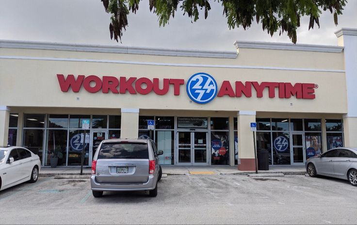 Homestead Florida Anytime Fitness Workout Gym Franchise
