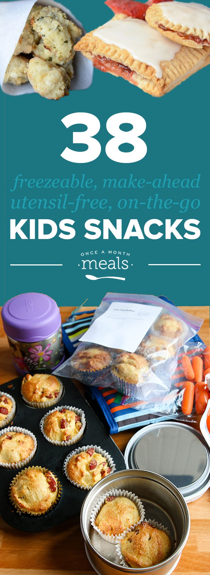 Save Your Summer with these Freezer Friendly, On-the-Go Kids Snacks! In need of snacks to take with you while you and your family are on-the-go this summer? Look no further than this freezer AND kid friendly list! Whether you are